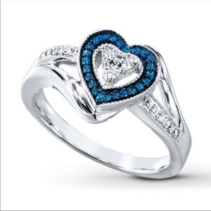Kay Jewelers Heart Shaped Ring